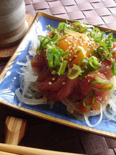 Yukhoe-Style Tuna