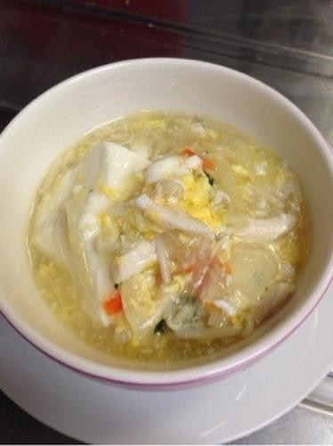 Silken Tofu Ankake Soup