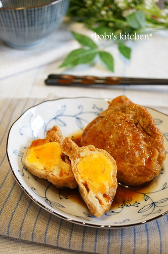 Korean-Style Simmered Egg Pouch