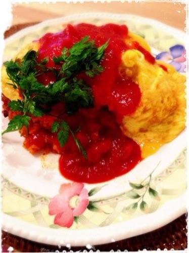 Omurice (Rice Omelette)