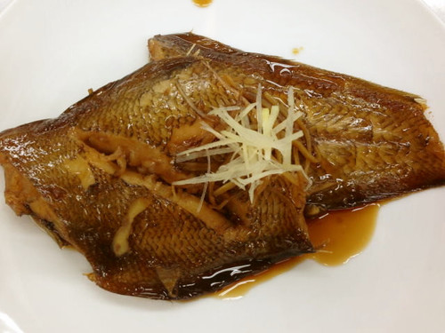 Simmered Red Sole