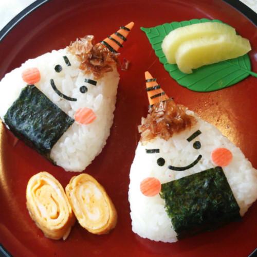 Setsubun Character Bento - Demon-Giri Rice Balls~