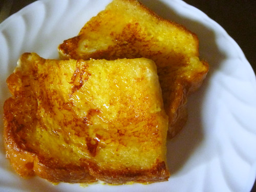 Easy French Toast in the Microwave