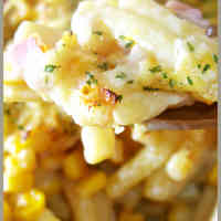 Easy Macaroni au Gratin with Soy Milk