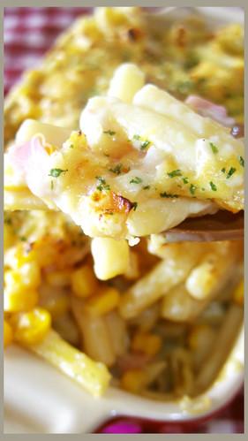 Easy Macaroni au Gratin with Soy Milk