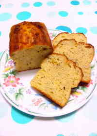 Moist Banana Cake (with 1 tablespoon of vegetable oil)