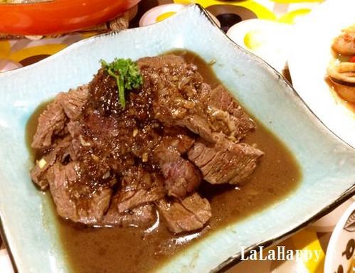 Rich Steak Sauce with Balsamic Vinegar
