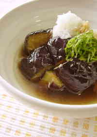 Deep-Fried Eggplants in Light Sauce