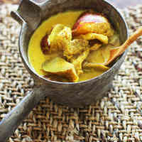 Easy Soy Milk Curry Soup
