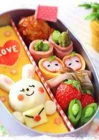 Valentine's Day Character Bento
