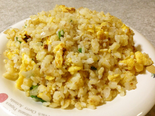 Crumbly Fried Rice