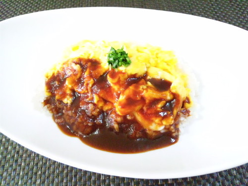 Simple Demi-glace Sauce Omurice