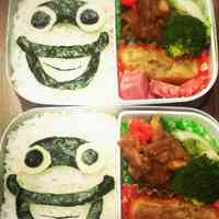Youkai Watch Easy Whisper Character Bento
