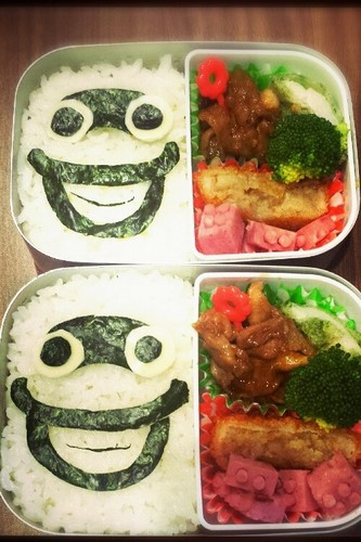 Youkai Watch Easy Whisper Character Bento