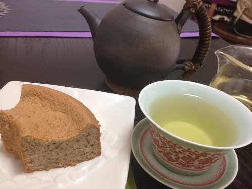 Tohou Bijin Tea (Chinese Tea) Chiffon Cake