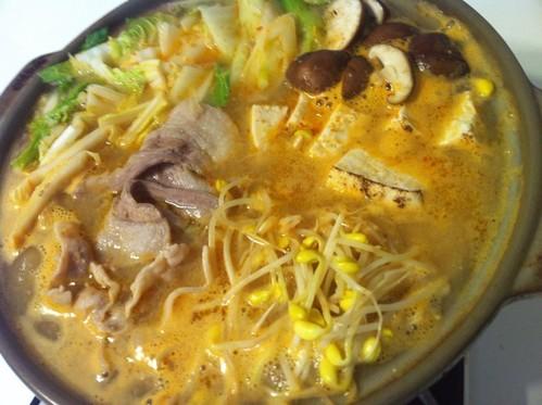 Steamy Sesame & Miso Shabu Shabu Hot Pot