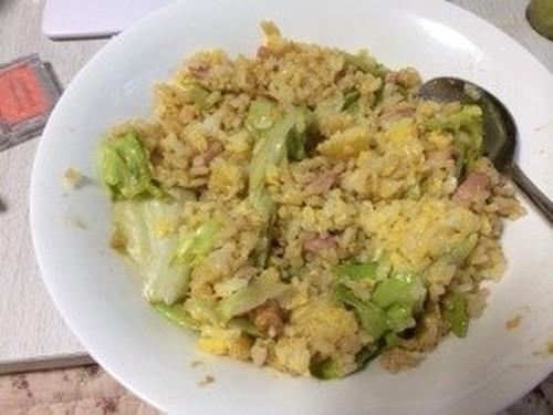Easy Lettuce Fried Rice