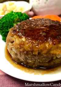 Juicy Hamburger Steak in Steak Sauce