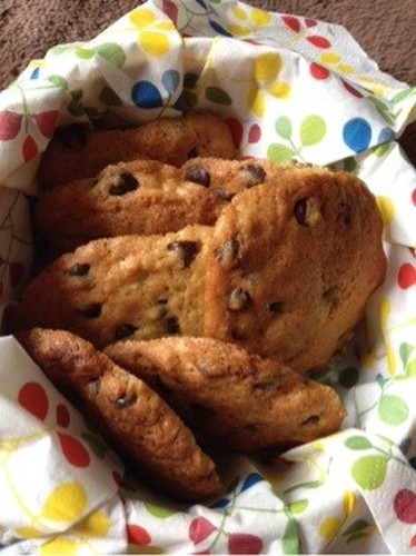 Sweet Chocolate Chip Cookies