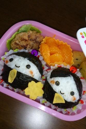 Character Bento Girl's Festval Dolls