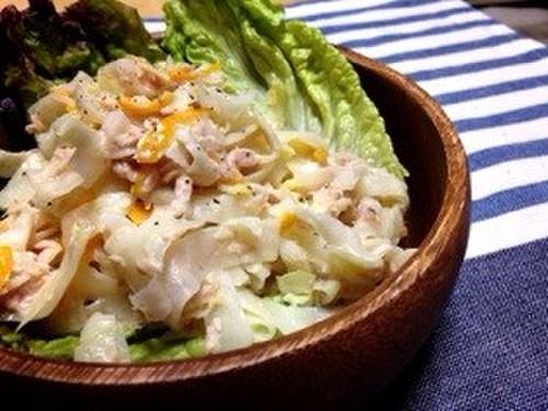 Easy Daikon Radish & Kumquat Tuna Salad