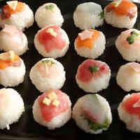 Cute Girl's Day Temari Sushi