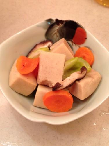 Easy Simmered Bite-Sized Koya Dofu