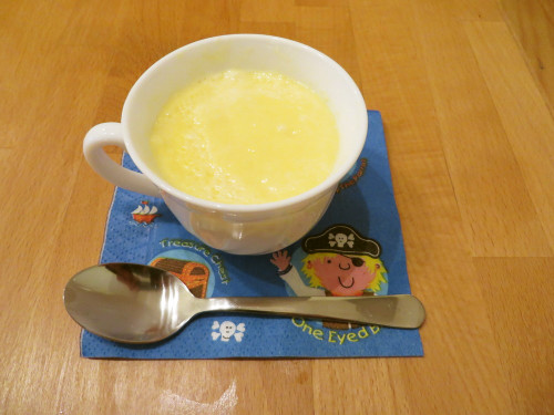 Easy Custard Pudding in the Microwave!