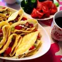 Pancake Mix Strawberry Crepes