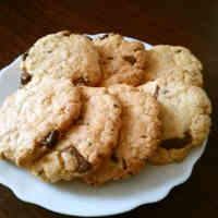 In 30 minutes Butter & Egg-Free American Cookies