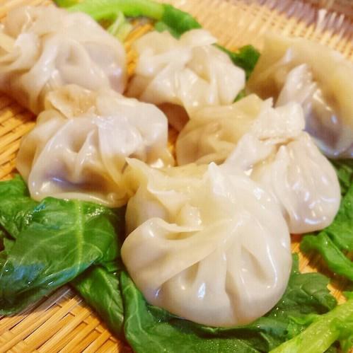 Xiaolongbao (Chinese Soup Dumplings) Made From Gyoza Skins
