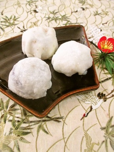 Ice Cream Daifuku with Instant Mochi