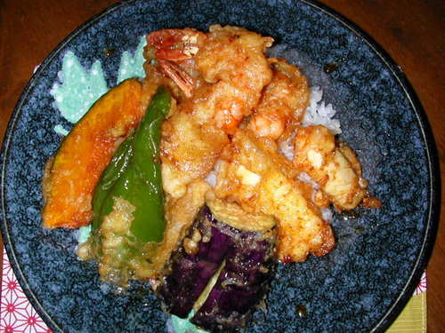 Tendon (Tempura Rice Bowl)