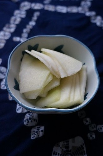 Sweetly Pickled Kohlrabi