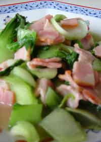 Bok Choy and Bacon Delicious Stir-Fry