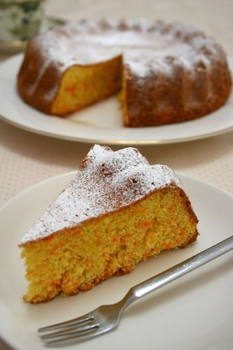 Castella-style Carrot Cake