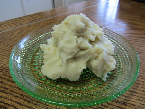 Mashed Potatoes with Wasabi