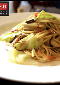 Quick & Easy Spring Cabbage and Sakura Shrimp Pasta