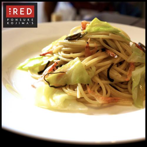 Quick & Easy Spring Cabbage and Sakura Shrimp Pasta