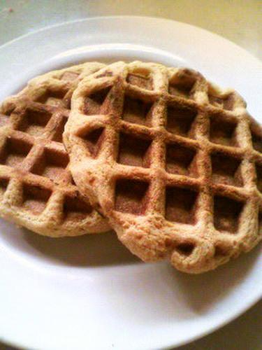 Low Sugar & Gluten-Free Soy Flour Waffles