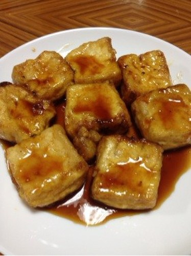 Teriyaki Firm Tofu