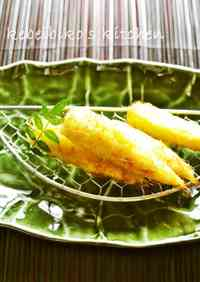 Deep Fried Fresh Young Corn