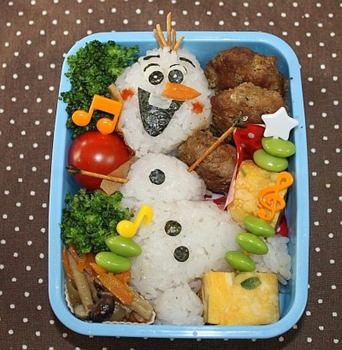 "Easy Frozen ""Olaf"" Charaben"