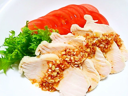 Well-Boiled Chicken with a Fragrant Sauce