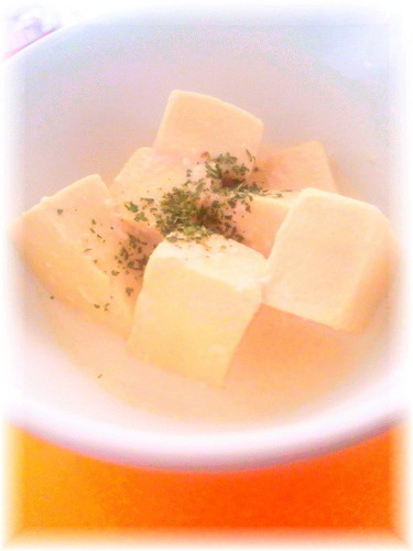 Super Creamy Koya Dofu Great for Diets or a Late-Night Snack