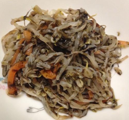 Bean Sprout & Nori Stir-fry