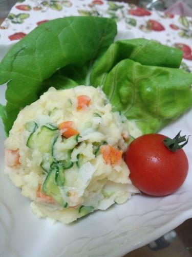 No Need for Boiling Easy Microwaved Potato Salad!