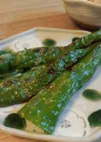 Anchovy-Stuffed Manganji Peppers
