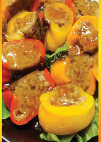 Delicious Meat-Stuffed Peppers