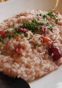 Simple American Cherry Risotto